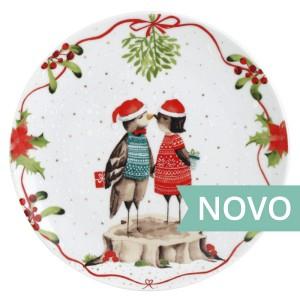 Prato Bolo 21 cm Christmas Love