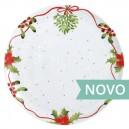Prato Bolo 21 cm Christmas Love Simples