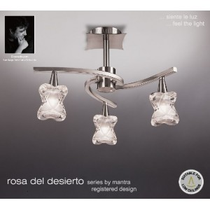 Candeeiro Rosa del Desierto 0038 MANTRA