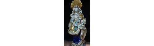 Hand Painted Religious Figures