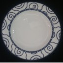 Prato Sopa Espiral Azul SPAL